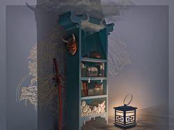 Шкаф самурая