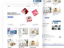 Dione - Concept website