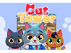 Cat Tower: Idle clicker - Builder!