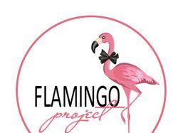 Логотип для интернет проекта Фламинго