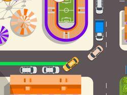 Промо HTML5 игра для TJ (Такси CityMobil)