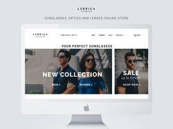 Сайт онлайн-магазина очков