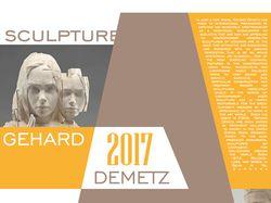 Рекламный плакат скульптора Gehard Demetz
