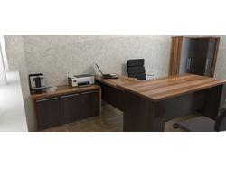 Визуализация офисной мебели