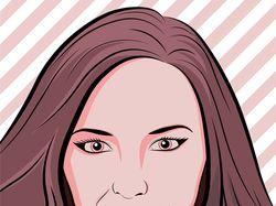 Портреты Pop-Art