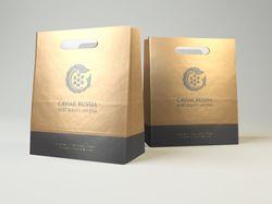 Логотип для Caviar Russia.
