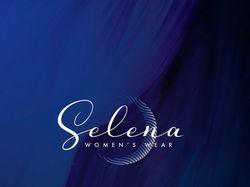 """Логотип для женской одежды """"Selena"""""""