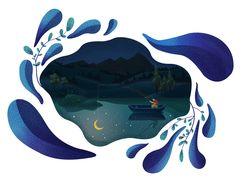На лунном озере