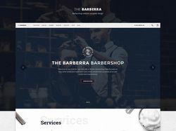 Дизайн сайта для барбершопа