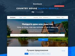 Сервис поиска загородных домов и участков