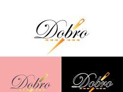 логотип для магазина текстиля