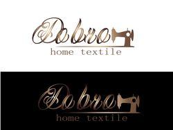 логотип для магазина текстиля (2 вар)