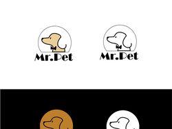 логотип для магазина для животных