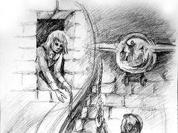 карандашные иллюстрации