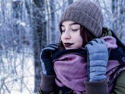 Обработка зимней фотосессии.
