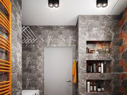 Проект квартиры в современном стиле (визуализация)
