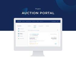 Интерфейс аукционного портала