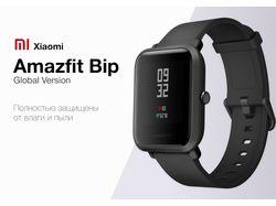Веб-баннеры Xiaomi Amazfit Bip
