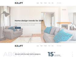 Дизайн: Krapt - шаблон для дизайна интерьеров