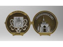 Золотое кольцо России, литьё, бронза.