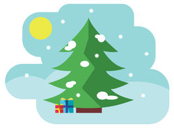 Рожденственское дерево