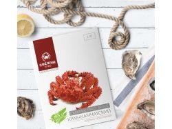 Дизайн линейки упаковок крабового мяса