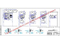 Расположение оборудования и разводка каб. сети