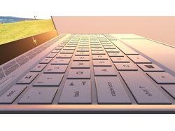 PBR модель ноутбука HP ENVY