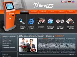 Сайт для компании EUROPAY