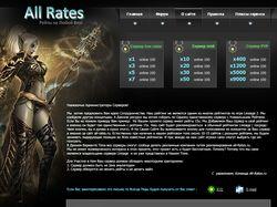 allrates.ru сайт по игре Lineage II