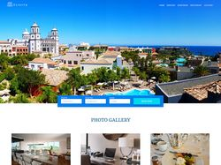 Дизайн сайта отеля