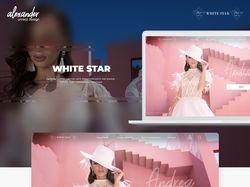 """Дизайн сайта  """"White Star"""""""