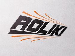 Логотип для магазина спорттоваров Roliki