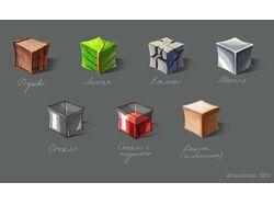 Иконки материалов