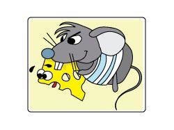 Монстро-мышь Illustrator