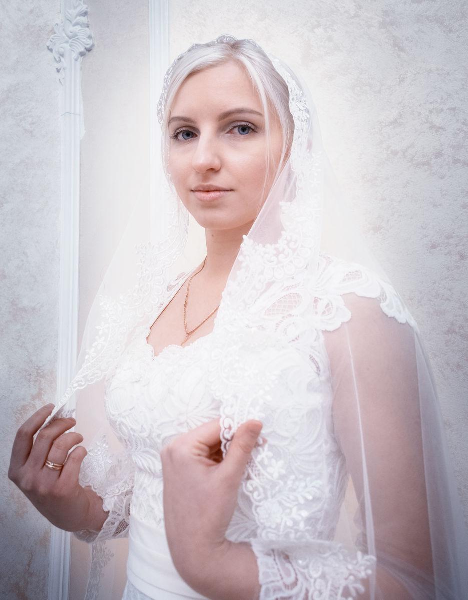 Обработка свадебной фотографии в высоком ключе