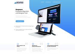 Landing Page for WebiProg