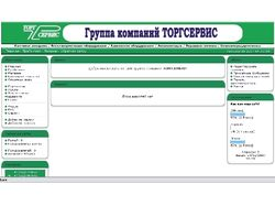 Сайт группы компаний ТОРГСЕРВИС