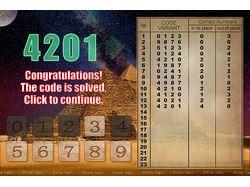 Secret code of the pyramids