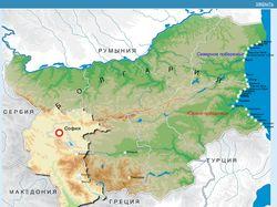 Флеш карта Болгарии