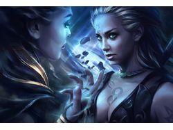 Before the dark Goddess (war of splinters)