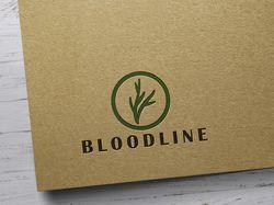 """Создание логотипа для компании """"BLOODLINE"""""""