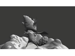 скульпт модель лесного мага