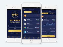 Дизайн мобильного приложения для BITNESS