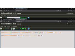 Онлайн среда разработки(IDE) языка BrainFuck