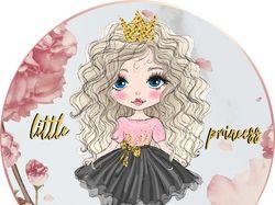 """Разработка лого для модельера """"Little Princess"""""""