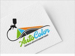 Лого для автомастерской-покрасочной