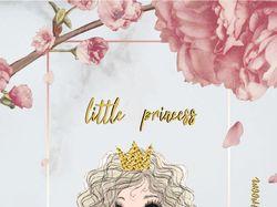 "Разработка бирки на одежду ""Little Princess"""
