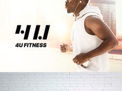 Лого 4U Fitness