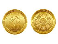Разработка дизайна крипто монеты